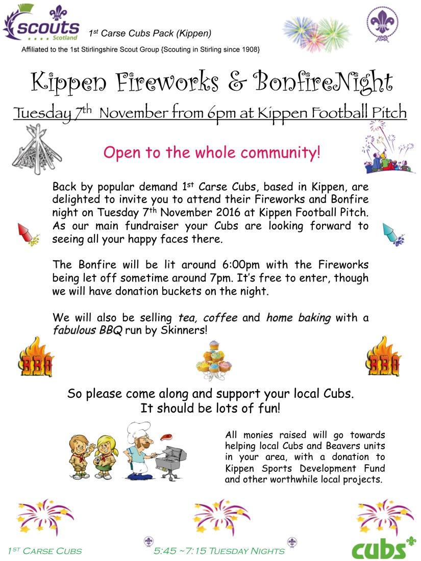 Firework poster wee vine 2017