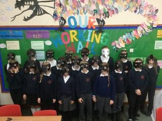 Primary 7 Class Activity Photo