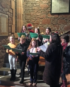 Carols singers at community concert