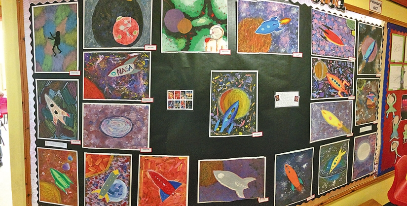 P7 Space Art Picture