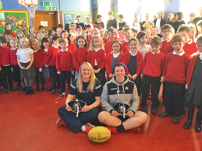 Scotland Womens Players Visit 2