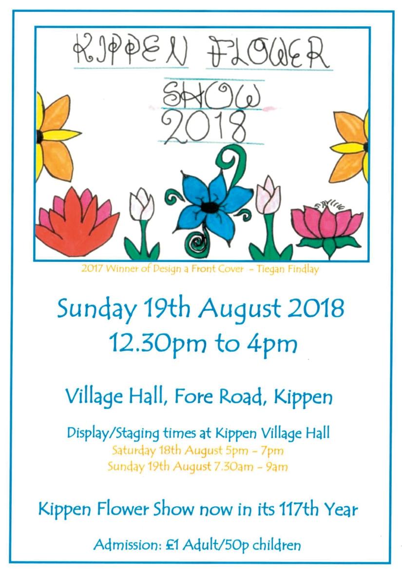 Kippen flower show 2018