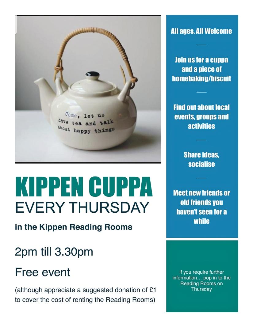 KIPPEN CUPPA flyer