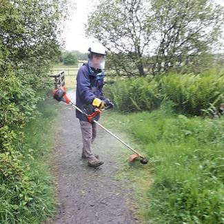 180602 grass cutting